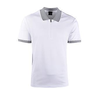 Pal Zileri LAB Pal Zileri Maglia Zip Polo Shirt White