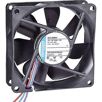 EBM Papst 8412 NGMLV Axial fan 12 V DC 45 m³/h (L x W x H) 80 x 80 x 25 mm