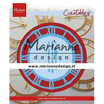 Marianne Design Creatables Cutting Dies - Clock LR0636