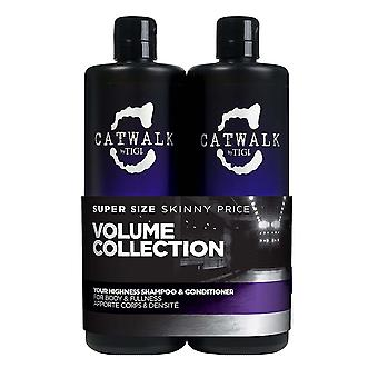 Tigi Bed Head Your Highness Duo Elevating Shampoo 750ml and Conditioner 750ml