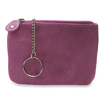 Brunhide Womens Genuine Soft Leather Purse - Inner Key Ring Attached # 211-300