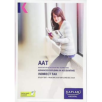 INDIRECT TAX (FA18) - STUDY TEXT by KAPLAN PUBLISHING - 9781787402676