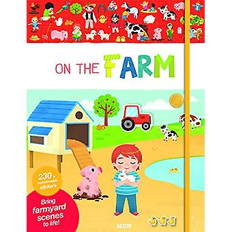 My Very First Stickers - On the Farm by Yi-Hsuan Wu - 9782733871829 Bo