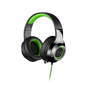 Edifier V4 Virtual Surround Sound USB Gaming Headset Green