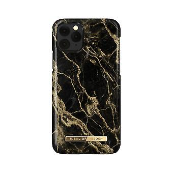 iDeal of Sweden iPhone 11 Pro / XS / X shell - Golden Smoke Marble