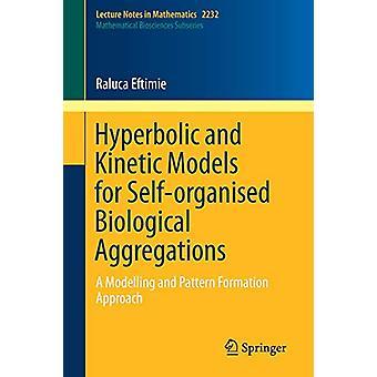 Hyperbolic and Kinetic Models for Self-organised Biological Aggregati