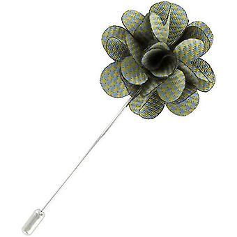 Eingewandt London Welpen Zahn Blume ReversStift - Licht blau/grün
