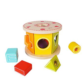 Classic World - Love Shape Sorter for Toddler and Baby Colour Recognition and Geometry Learning
