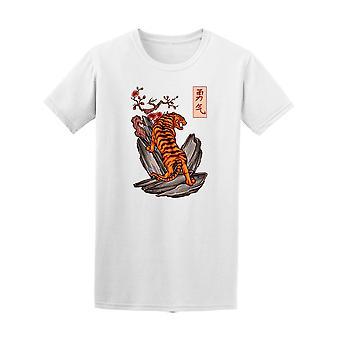 Der japanische Tiger Tattoo Stil zeichnen die japanischen Kanji Wörter bedeutet Cou