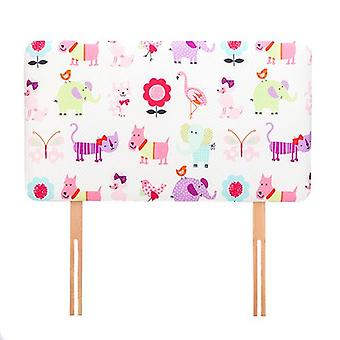 Klar Steady Bed Cute Pets Design Børn' s Single Headboard 3ft Bed Size Skum Polstret