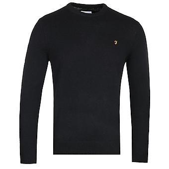 Farah Rosecroft Black lammull tröja