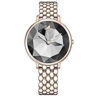 Swarovski 5416026 tapauksessa safiiri kristalli kvartsi analoginen hyvät katsella