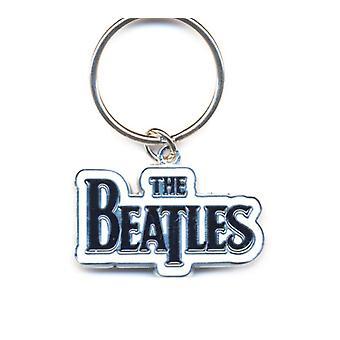 מחזיק מפתחות הביטלס מחזיק מפתחות הלהקה לוגו שחור מטאל רשמי חדש