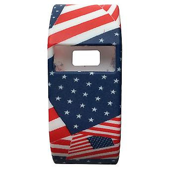 40 Patronen Band Cover Shockproof Sleeve Soft Case Voor Fitbit Charge HR[#17]