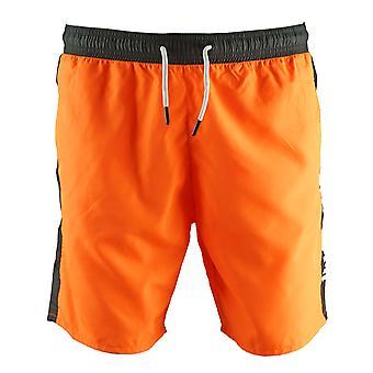 Roberto Cavalli Logo Orange Beachwear plávať šortky