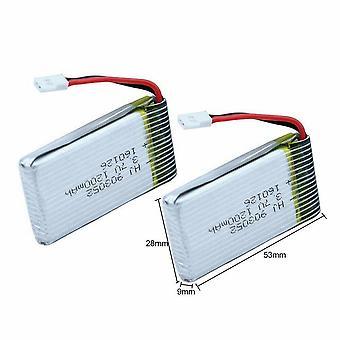 2 pcs 3.7V 1200mAh Mise à niveau de la batterie Lipo pour Syma X5SC X5SW RC Quadcopter Drone