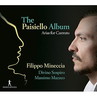 Mineccia - Paisiello Album [CD] USA import