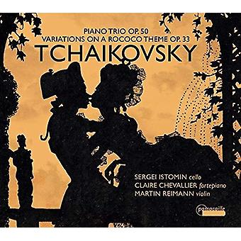 Variations On A Rococo Theme In A Major 33 [CD] USA import