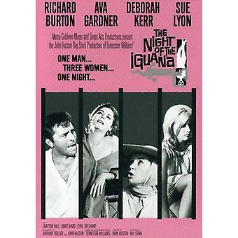 Nat af Iguana [DVD] USA importen