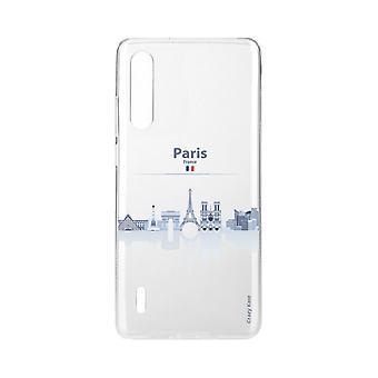 Hull For Xiaomi Mi 9 Lite Souple Monumenter De Paris