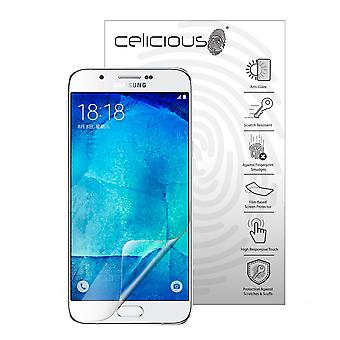 Celicious Matte Anti-Glare Screen Protector Film Compatible with Samsung Galaxy A8 [Pack of 2]