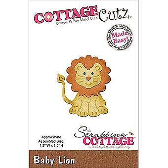 Skrotning Stuga CottageCutz Baby Lion