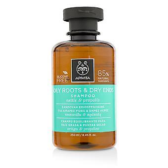 Shampoo alle radici e alle estremità secche con ortiche e propoli 219087 250ml/8.45oz