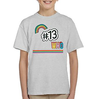 T-shirt Doctor Who hashtag 13 Kid