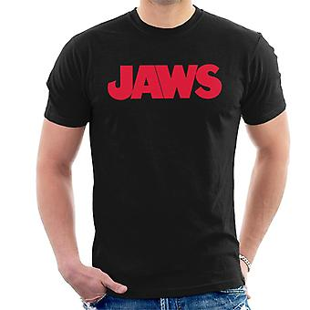 Jaws Text Logo Men's T-Shirt