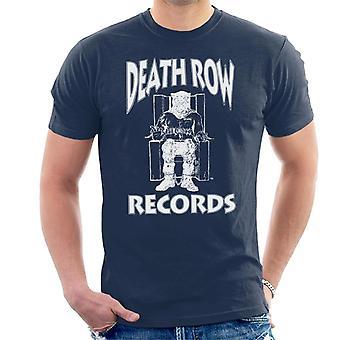 Death Row Records Chair Logo White Men's T-Shirt