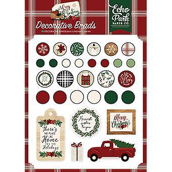 Echo Park Kodikas joulu koristeellinen Brads