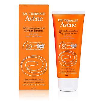 Lotion de très haute protection spf 50+ pour les peaux sensibles des enfants 162799 100ml/3.3oz