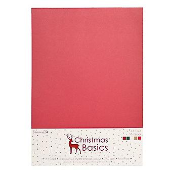 Dovecraft Christmas Grunnleggende A4 KortPakke