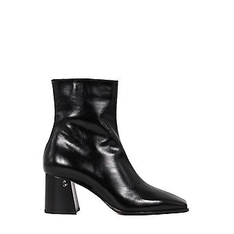 Jimmy Choo Bryelle65nakblack Women's Black Leather Ankle Boots