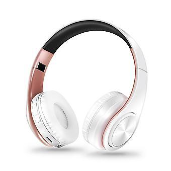 Wireless bluetooth folding headset
