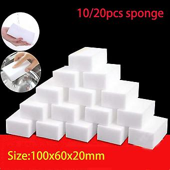 10/20pcs Magic Sponge Eraser Melamine Sponge Cleaner Kitchen Cleaning Sponge For Dish Wash Bathroom Cleaning Tools