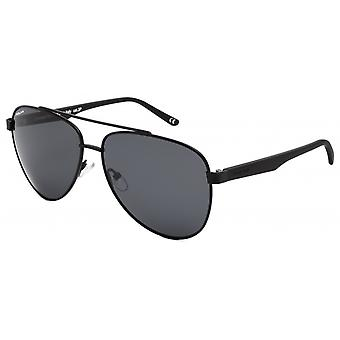 Sunglasses Unisex Aviator polarized matt black (P75676)
