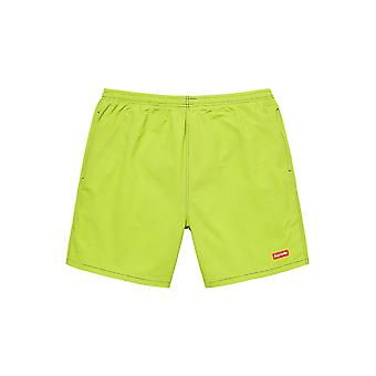 Supreme Arc Logo Water Short (Ss20) Lime - Clothing