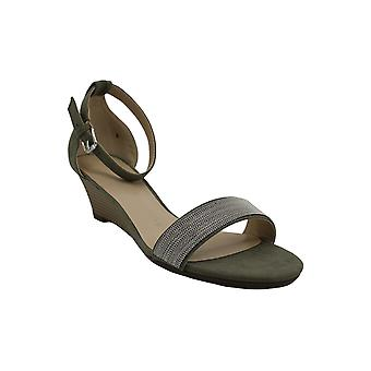 Athena Alexander Womens ENFIELD Fabric Peep Toe Formal Ankle Strap Sandals