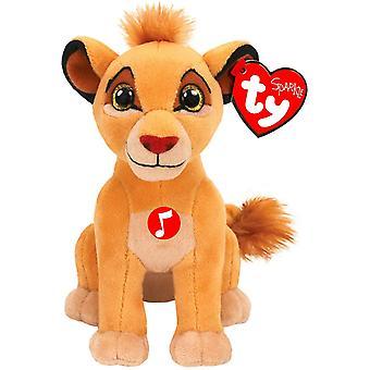 Ty Beanie Babie - Disney Simba Plush with Sound Kids Toy