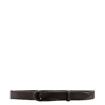 Orciani Nb0068bullsoft005 Men's Brown Leather Belt