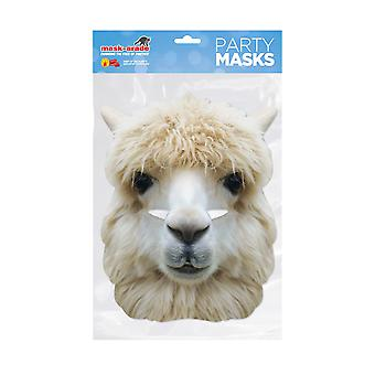 Mask-arade Alpaca Party Face Mask