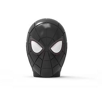 Spider-man Kypärä Langaton Led Flash Light Kannettava Kaiutin