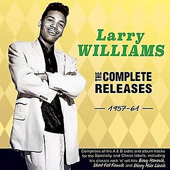 Larry Williams - Larry Williams: Complete Releases 1957-61 [CD] USA import
