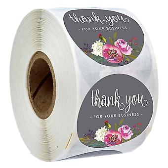 Thank You - Roll Sticker