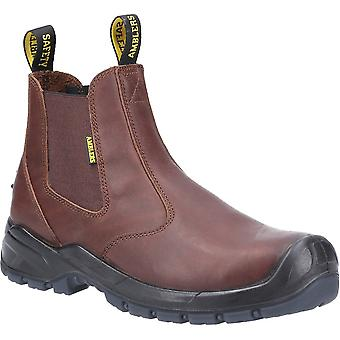 Amblers Safety Mens AS307C Pull On Safety Händler Stiefel