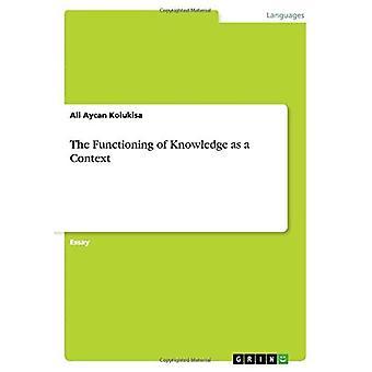 Tiedon toimiminen kontekstina