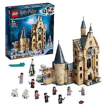 Lego 75948 harry potter tylypahka linnan kellotorni lelu, yhteensopiva suuri sali ja kuka wil