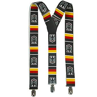 Shenky BRD Adler high-quality suspenders with 3 clips
