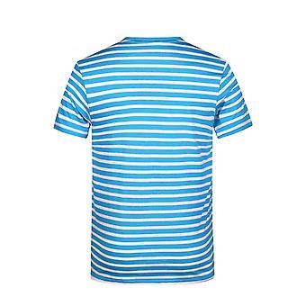 James og Nicholson Menns Økologisk Bomull Stripete T-skjorte